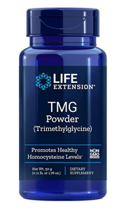 TMG Powder - Trimethylglycine, 50 grams