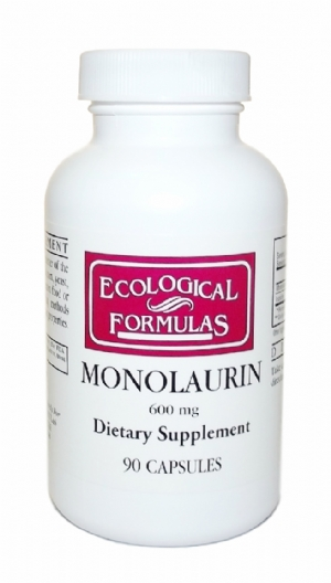 Monolaurin 600 mg Ecological Formulas (90 capsules)
