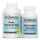 Basic Nutrients Plus Antioxidant Formula Package - ON SALE!