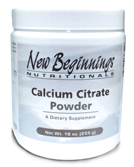 Calcium Citrate Powder(16 oz) ON SALE!