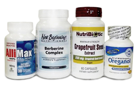 Yeast Control Package (Capsules) – NEW!